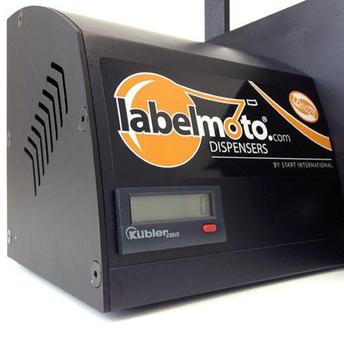 Labelmoto electric label dispensers LDCOUNTER